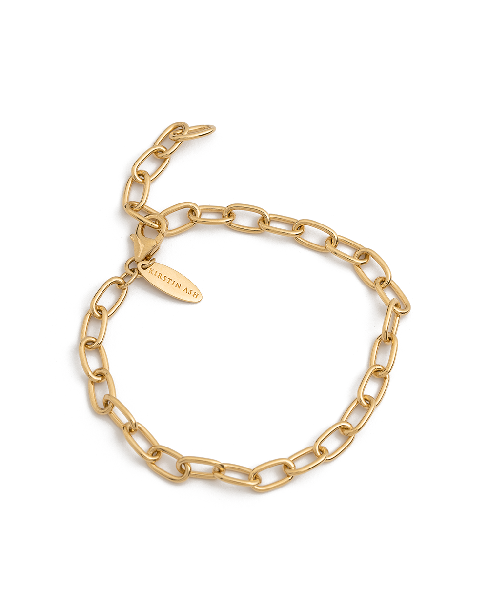 TIDAL CHAIN BRACELET (18K-GOLD-PLATED)
