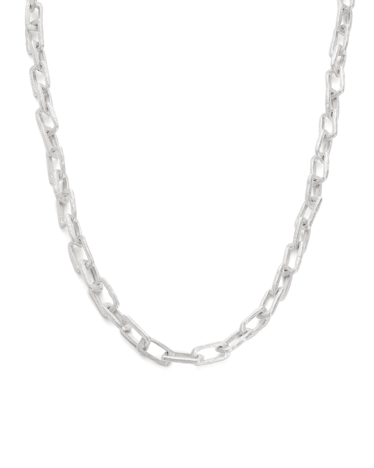 TRANSFORMATION CHAIN NECKLACE (STERLING SIlVER) - FRONT