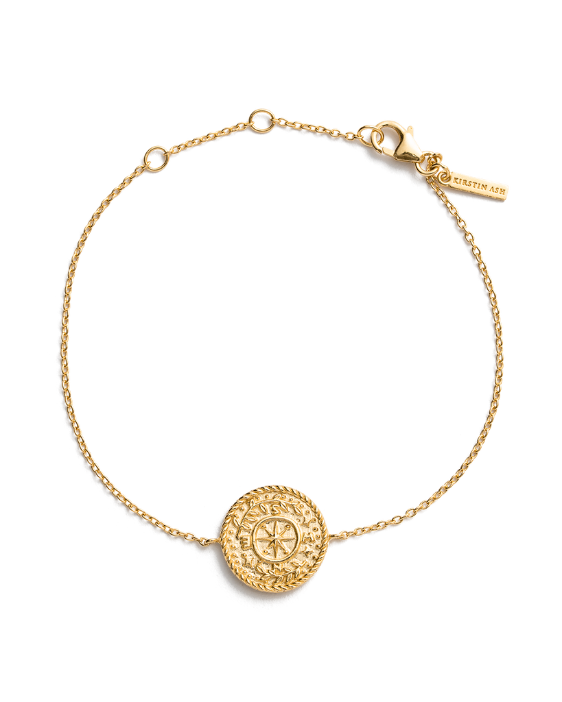 TREASURE COIN BRACELET (18K-GOLD-PLATED) 01