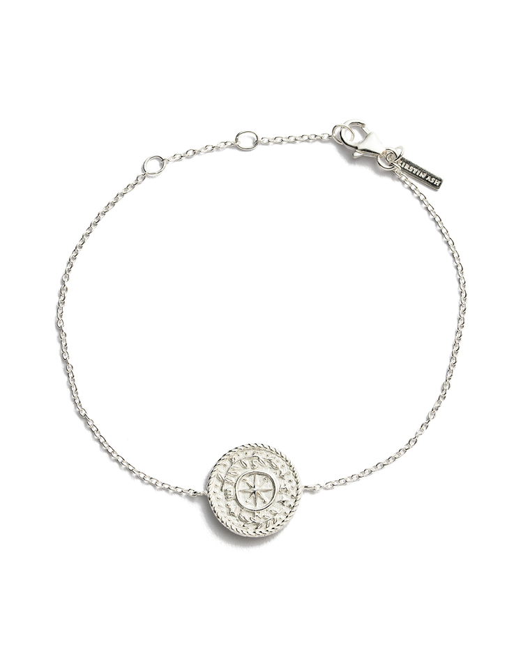 TREASURE COIN BRACELET (STERLING SILVER)