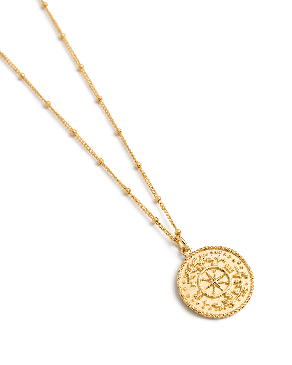 TREASURE COIN NECKLACE (18K-GOLD-VERMEIL) 02