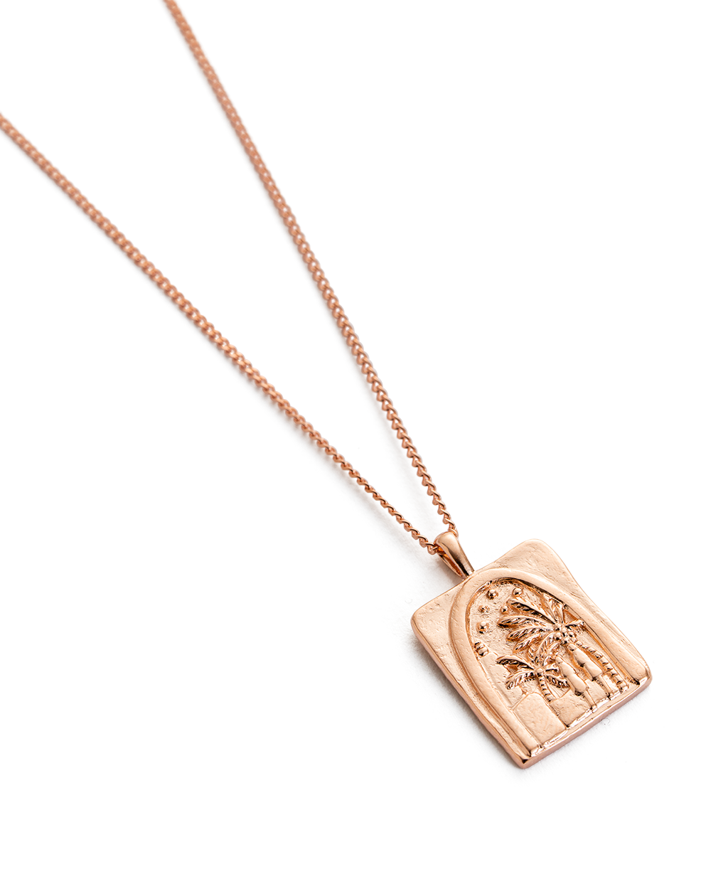 UNDER THE NIGHT SKY NECKLACE (18K-ROSE GOLD-VERMEIL)