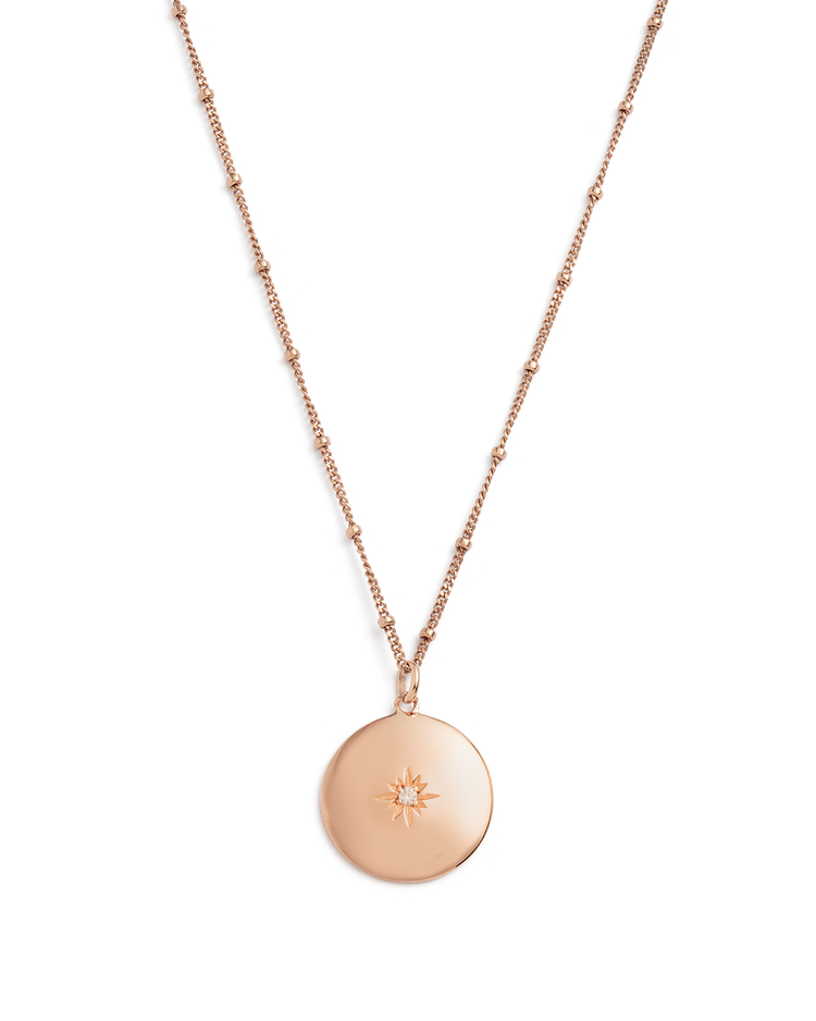 VENUS NECKLACE (18K-ROSE GOLD-VERMEIL)
