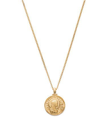 VIRGO ZODIAC NECKLACE (18K-GOLD-VERMEIL)