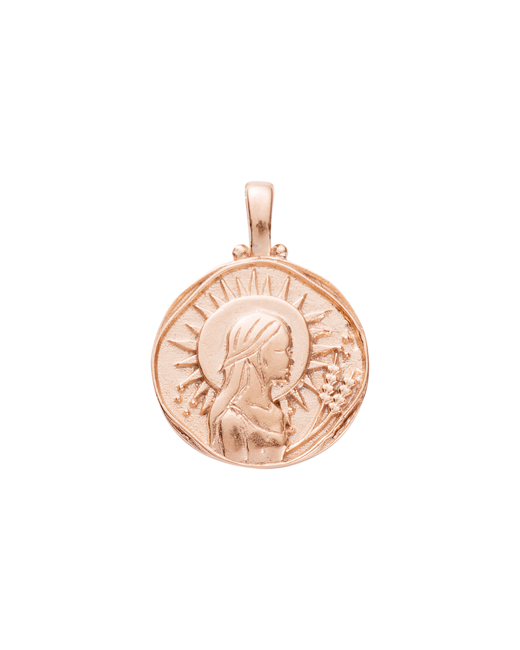 VIRGO ZODIAC (18K-ROSE GOLD-VERMEIL)