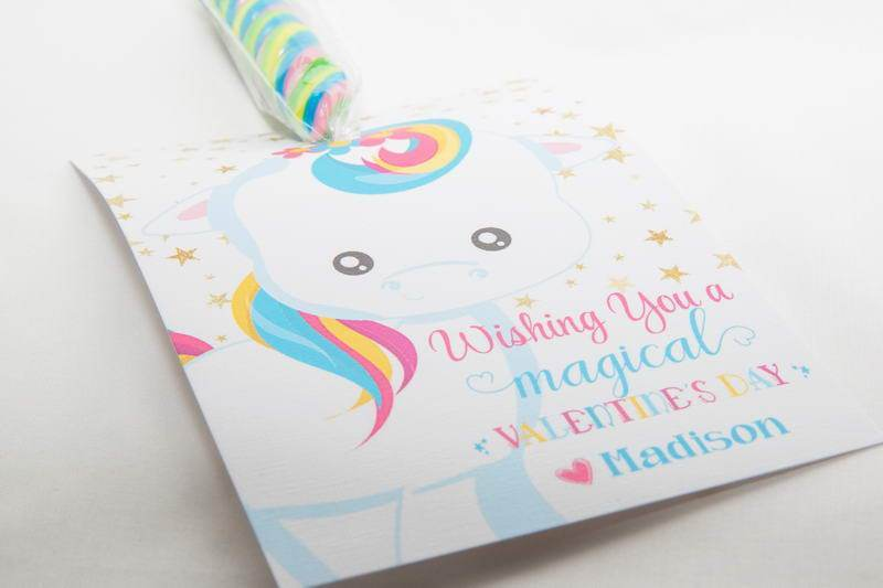 God made you unique Magical Unicorn Easter Favors, IDEASTERUNICORN0520