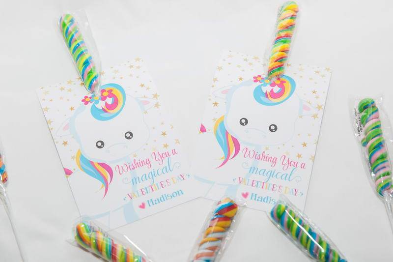 God Made you Unique Magical Unicorn Easter Favors, EASTERUNICORN0520