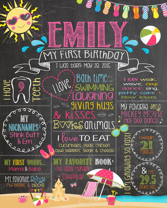 poster for birthday