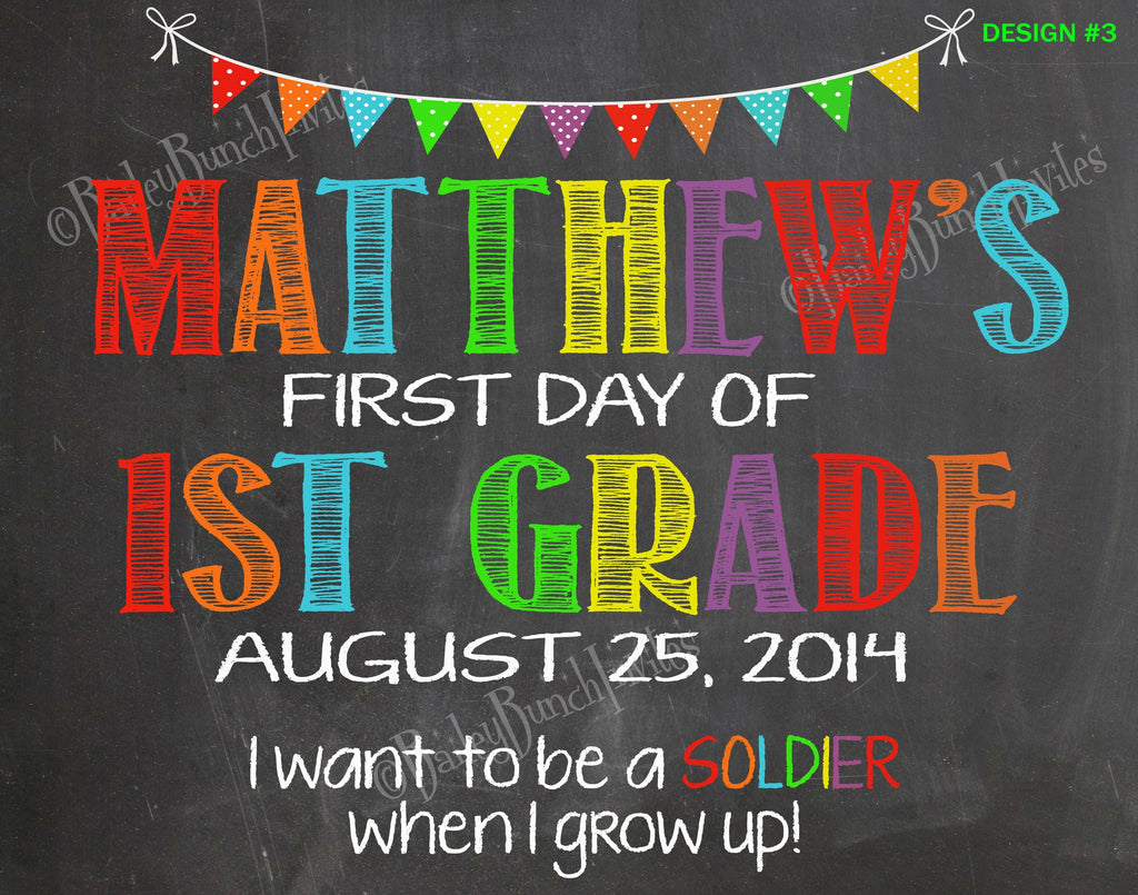 First Day of School Chalkboard - When I grow up SCHOOLCHALK0520