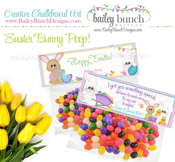 Easter Treat Tags, Bunny Poop, IDBUNNYPOO0520