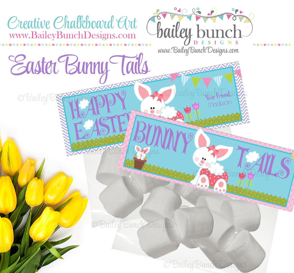 Easter Treat Toppers, Bunny Bunny Tails, BUNNYTAIL0520