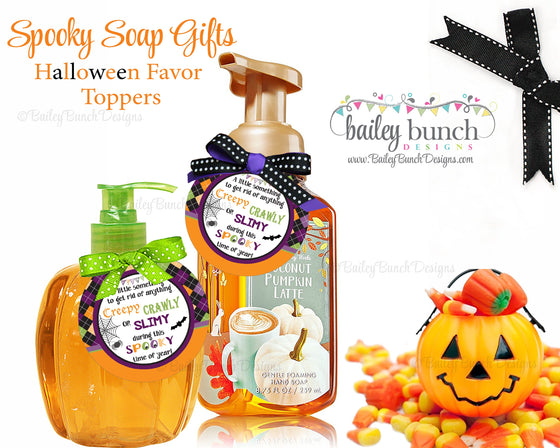 Halloween Spooky Soap Labels, Soap Labels, Halloween IDBOOOAP0520