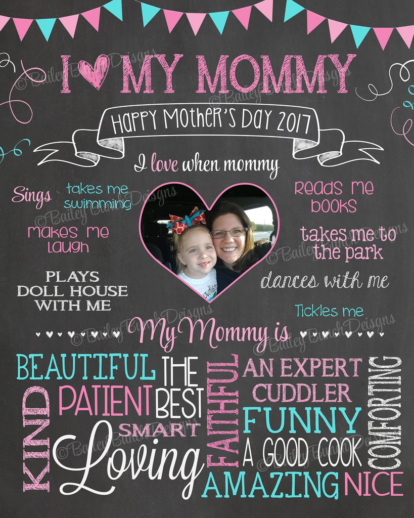 Mother's Day Chalkboard, MOMCHALK0520