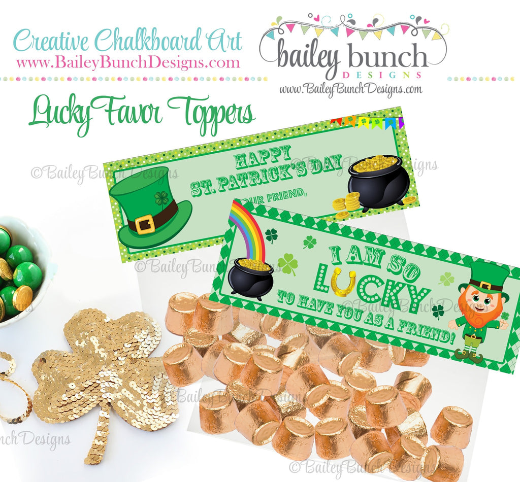 Lucky St. Patrick's Day Treat Tags, IDLUCKY0520