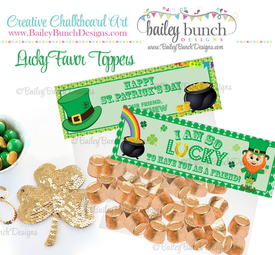 Lucky St. Patrick's Day Treat Tags, LUCKY0520