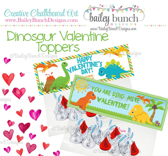 You are Dino-Mite Dinosaur Treat Bag Toppers, Valentines VDAYDINO0520