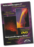 VolcanoScapes 3 and VolcanoScapes 4 - DVD