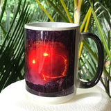 Smiley Face Lava Mugs - Color Changing