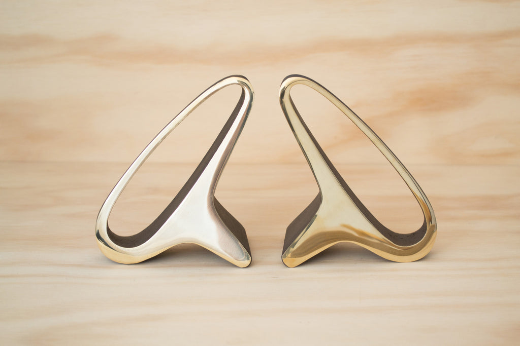 Carl Aubock 3848 Brass Bookends | OK
