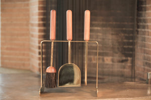 Carl Aubock Fireplace Tool Set | OK
