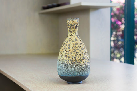 Heather Rosenman Blue Volcanic Vase | OK