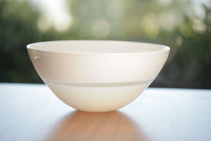 Load image into Gallery viewer, Caleb Siemon White Lattimo Small Bowl | OK
