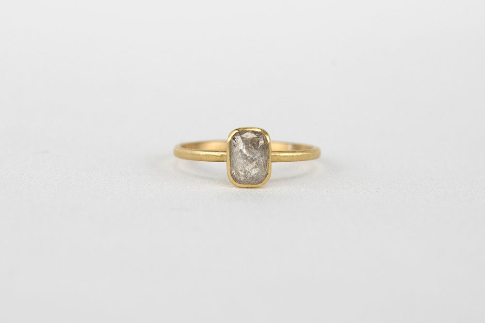 Grey Diamond Stacker Ring