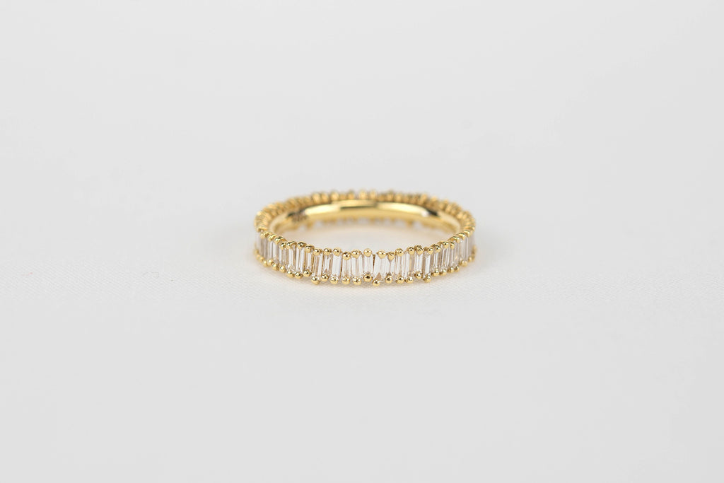 Suzanne Kalan Baguette Eternity Band | OK