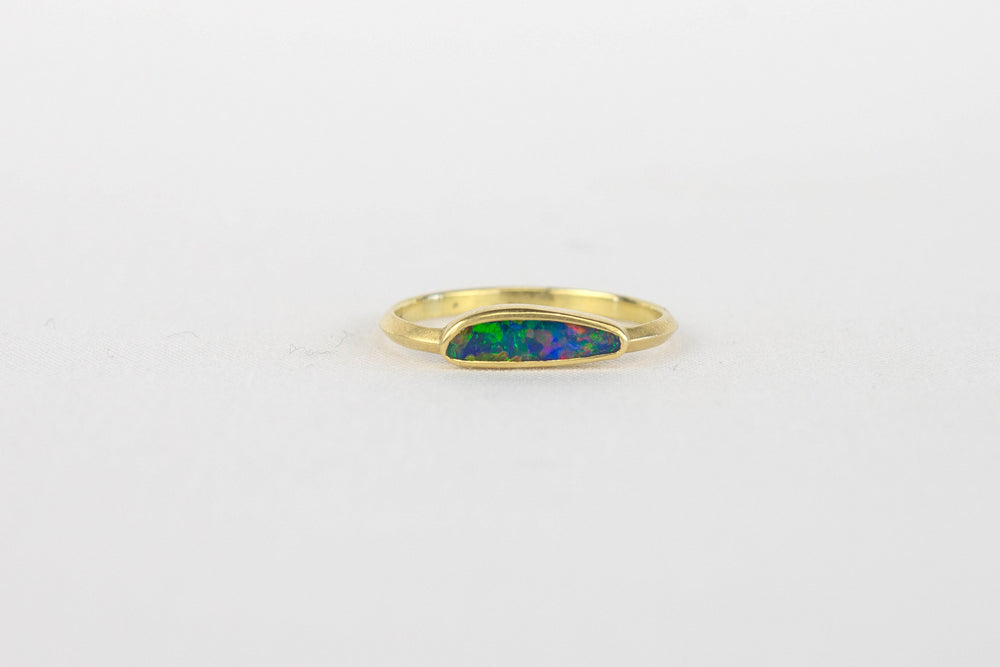 Load image into Gallery viewer, Kothari Boulder Opal Free Form Ring | OK
