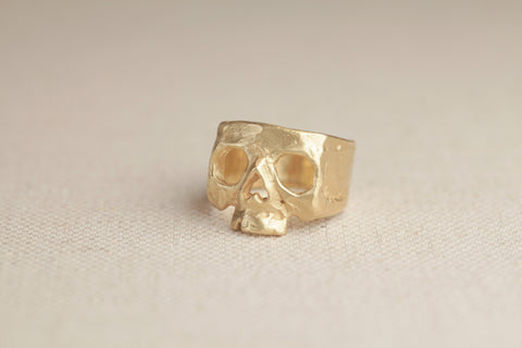 Polly Wales Nebula Skull Ring | OK