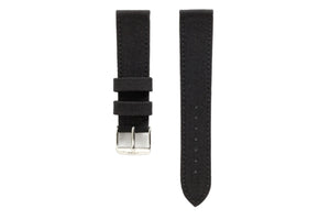 WEISS HORWEEN SHELL CORDOVAN BLACK LEATHER STRAP | OK