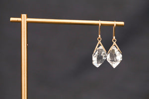 Load image into Gallery viewer, Hannah Blount Herkimer Earrings | OK