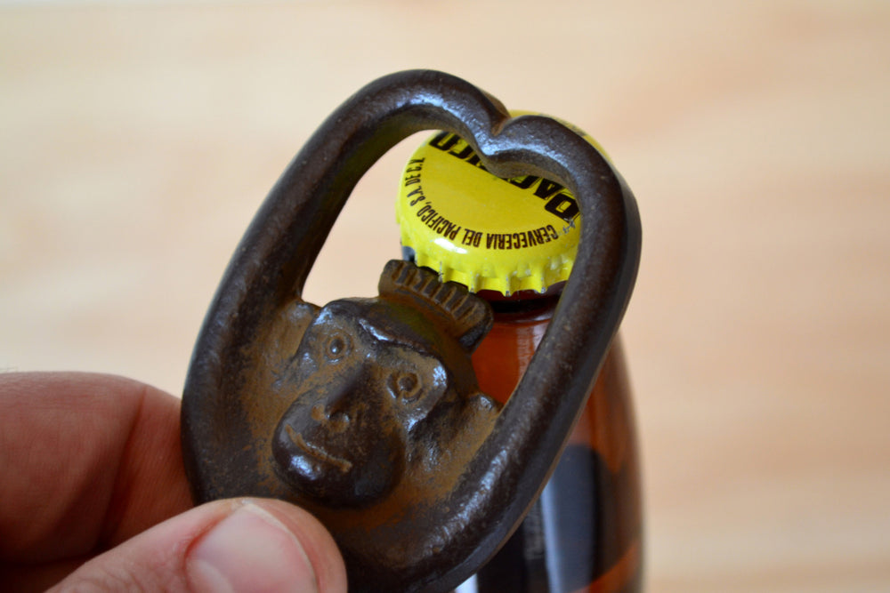 Cast Iron Monkey Bottle Opener