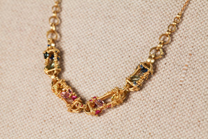 La Fontaine Pinched Necklace