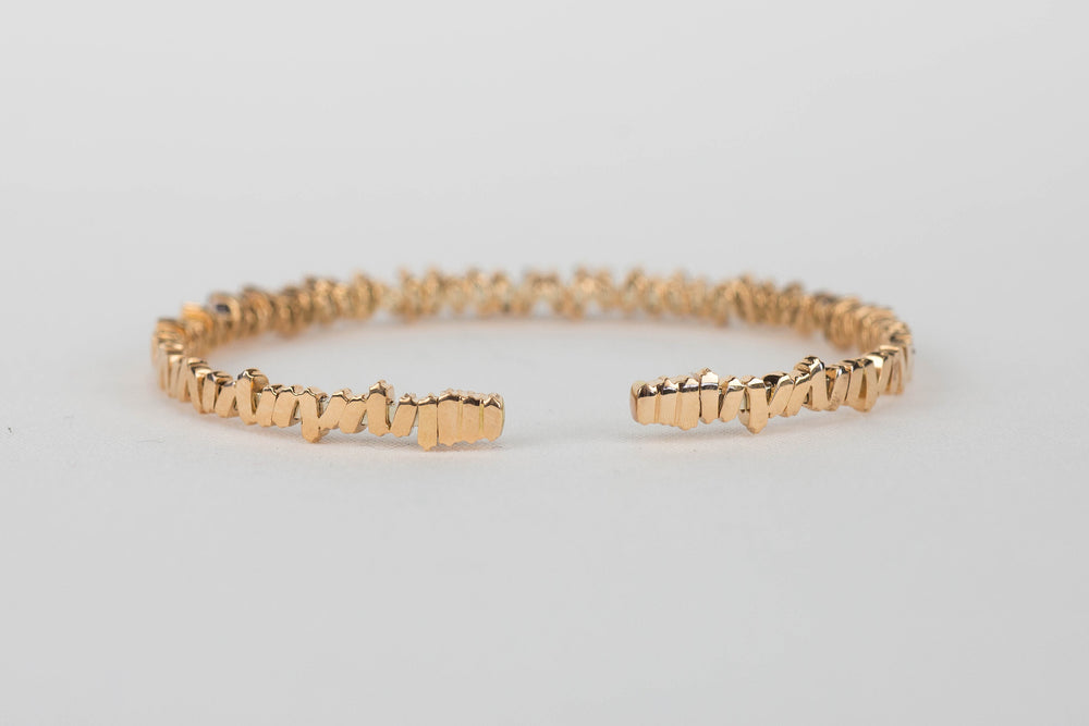 Load image into Gallery viewer, Diamond Baguette Cuff