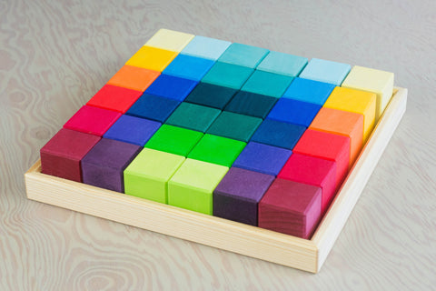 Square Colored Blocks