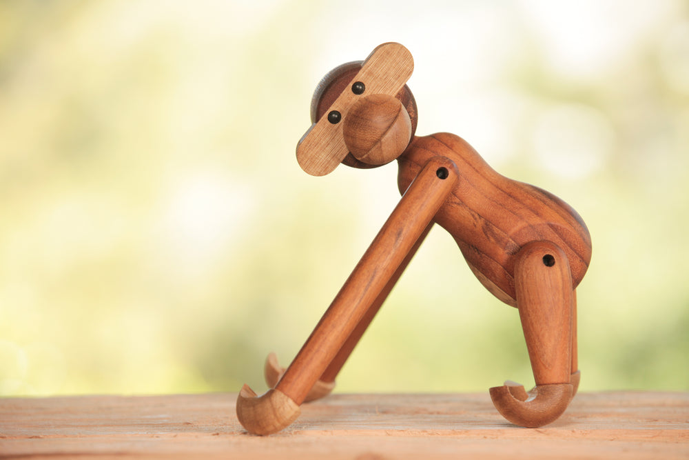 Load image into Gallery viewer, Kay Bojesen Teak Wood Monkey | OK
