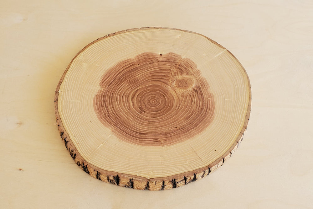 Log Slice Serving Board