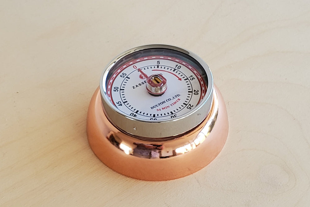 Kitchen Timer Copper