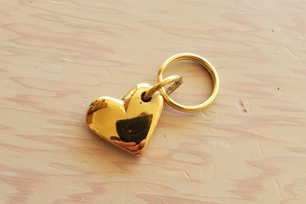 "Aubock Key Rings ""Pig #4500"" and ""Heart #5600"""