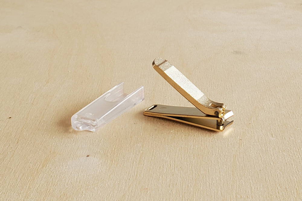 Japanese Nail Clippers in Gold