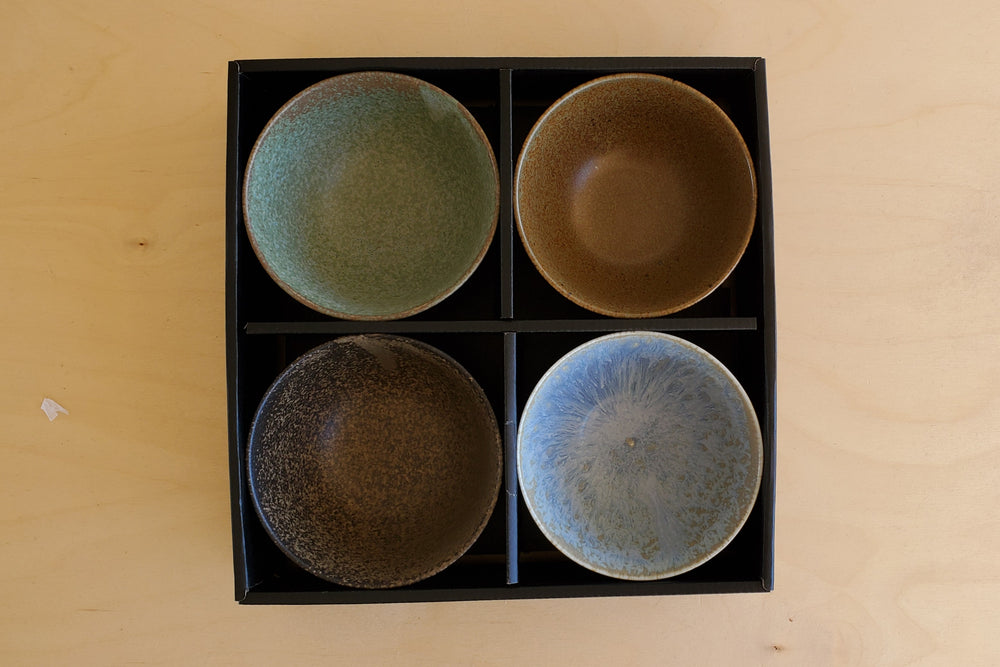 Set of 4 Japanese Bowls