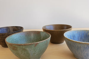 Load image into Gallery viewer, Set of 4 Japanese Bowls