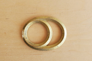 "Japanese Brass Bottle Opener ""Eclipse"""