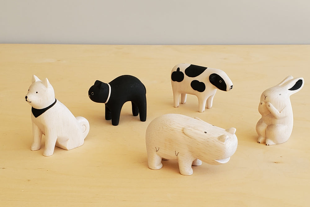Load image into Gallery viewer, T-Lab Wooden Animals