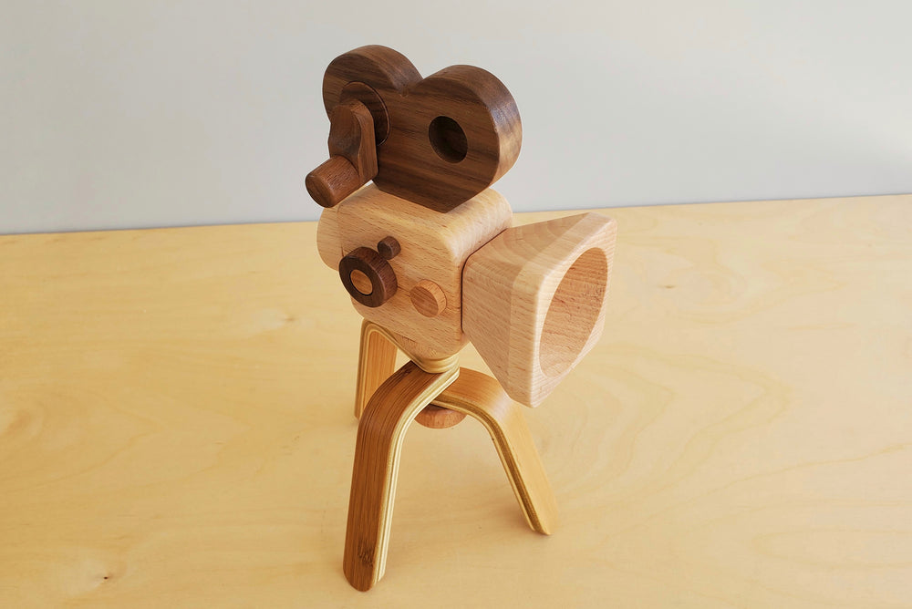Wood Toy Cameras