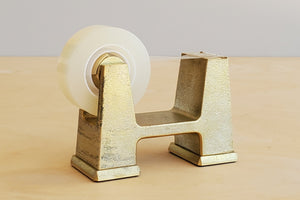 Load image into Gallery viewer, Japanese Brass Tape Dispenser