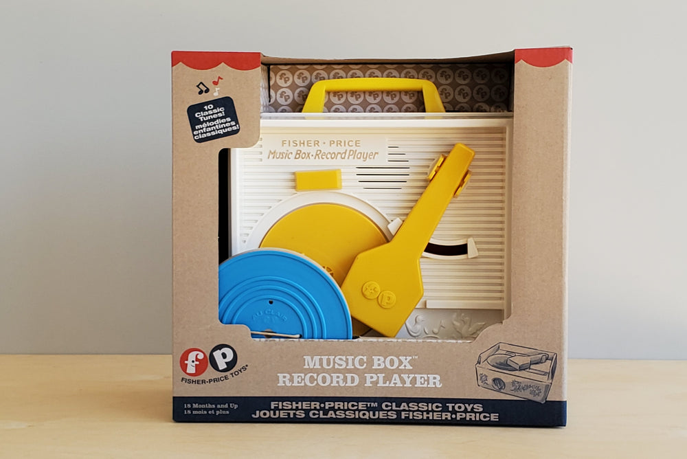 Music Box Record Player