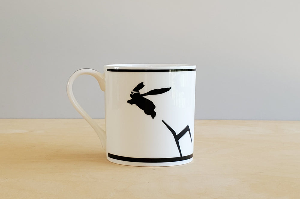 Rabbit Superhero Mug