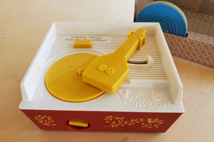 Fisher Price Record Player Music Box